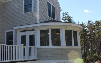 Custom Designed Screen Room – Wareham, MA