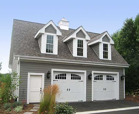 Planning a garage addition cfh builders for Two car garage designs