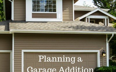 Planning a Garage Addition