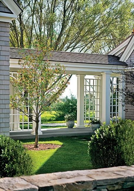 Breezeway ideas cfh builders for House plans with breezeway between house and garage