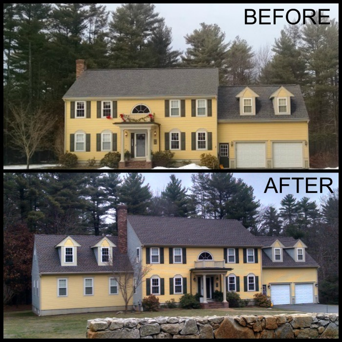 House Additions Ideas A Sunroom Over The Ravine: Family Room Addition In Assonet, MA
